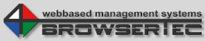 BROWSERTEC :: webbased management systems :: Industrial Management > Produkte > Admin Interface :: Industrial Edition